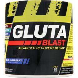 Con-Cret Gluta Blast - Advanced Recovery Blend Blue Raspberry 8.04 oz