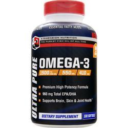 4 DIMENSION NUTRITION Omega-3 100 sgels