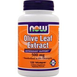 NOW Olive Leaf Extract (500mg) 120 vcaps