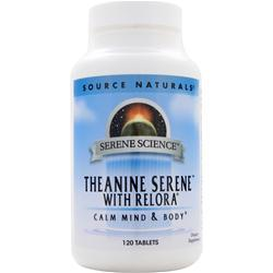 Source Naturals Theanine Serene with Relora 120 tabs