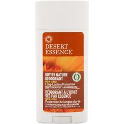 Desert Essence Dry By Nature Deodorant - Aluminum Free 2.75 oz