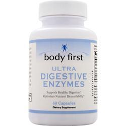 Body First Ultra Digestive Enzymes 60 caps
