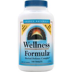SOURCE NATURALS Wellness Formula 180 tabs