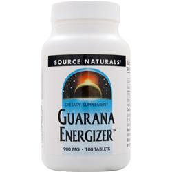 Source Naturals Guarana Energizer 100 tabs