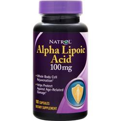 NATROL Alpha Lipoic Acid (100mg) 100 caps