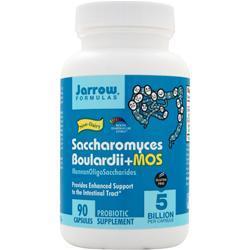 Jarrow Saccharomyces Boulardii plus MOS 90 vcaps