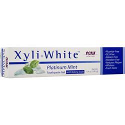 Now XyliWhite Toothpaste Platinum Mint+Baking Soda 6.4 oz