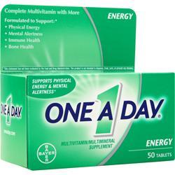 BAYER HEALTHCARE ONE A DAY Energy 50 tabs