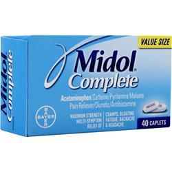 BAYER HEALTHCARE Midol Complete 40 cplts