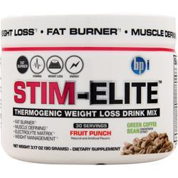 BPI Stim-Elite Fruit Punch 90 grams