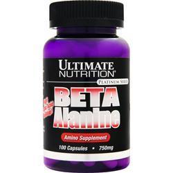 Ultimate Nutrition Beta Alanine (750mg) 100 caps