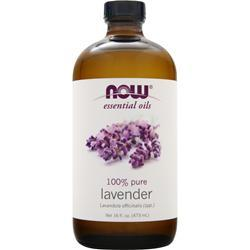 NOW Lavender Oil 16 fl.oz