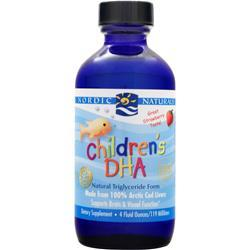 Nordic Naturals Children's DHA Liquid Strawberry 4 oz