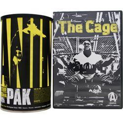 Universal Nutrition Animal Pak with Free Cage DVD 44 pckts