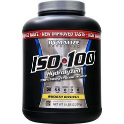 DYMATIZE NUTRITION ISO-100 Strawberry 5 lbs