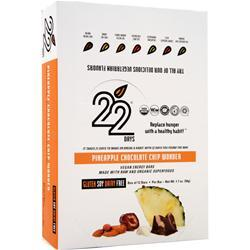 22 DAYS Protein Bar PB Chocolate Chip Nirvana 12 bars