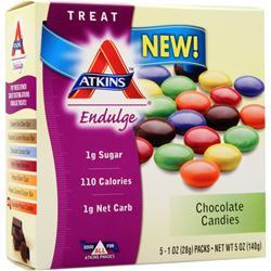 ATKINS Endulge Candy Chocolate Candies 5 pckts