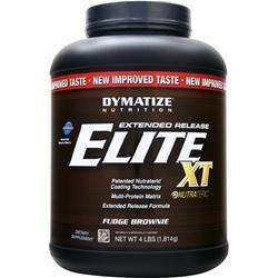 DYMATIZE NUTRITION Extended Release Elite XT Protein Fudge Brownie 4 lbs