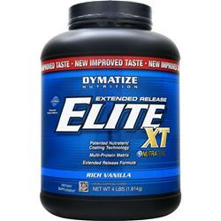 DYMATIZE NUTRITION Extended Release Elite XT Protein Rich Vanilla 4 lbs