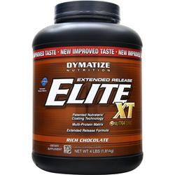 DYMATIZE NUTRITION Extended Release Elite XT Protein Rich Chocolate 4 lbs