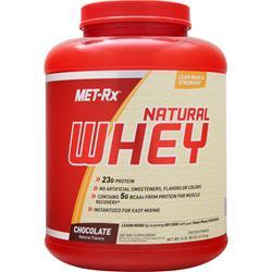 MET-RX 100% Instantized Natural Whey Chocolate 5 lbs