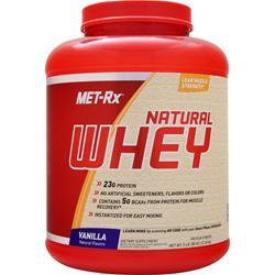 Met-Rx 100% Instantized Natural Whey Vanilla 5 lbs