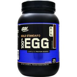 OPTIMUM NUTRITION 100% Egg Protein Rich Chocolate 2 lbs