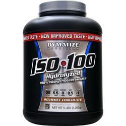 DYMATIZE NUTRITION ISO-100 Gourmet Chocolate 5 lbs