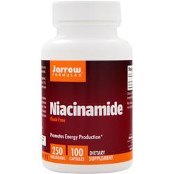 JARROW Niacinamide - Flush Free (250mg) 100 caps