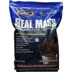 Gaspari Nutrition Real Mass Probiotic Series Chocolate Ice Cream 12 lbs