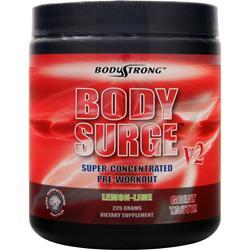 BODYSTRONG Body Surge V2 - Super Concentrated Pre-Workout Lemon-Lime 225 grams