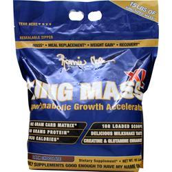 Ronnie Coleman King Mass Dark Chocolate 15 lbs