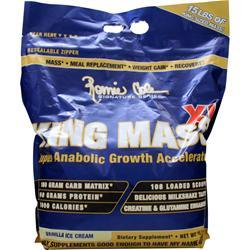 RONNIE COLEMAN King Mass Vanilla Ice Cream 15 lbs