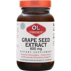 OLYMPIAN LABS Grape Seed Extract (600mg) 60 vcaps