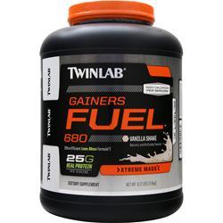 TwinLab Gainers Fuel 680 - Xtreme Mass Vanilla Shake 6.17 lbs
