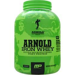 Arnold Iron Whey Chocolate EXPIRES 9/16 5 lbs