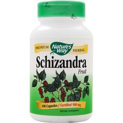 Nature's Way Schizandra (580mg) 100 caps