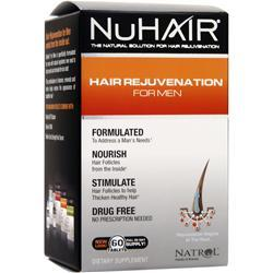 Nu Hair Hair Rejuvenation for Men 60 tabs