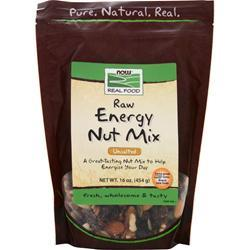 NOW Unsalted Raw Energy Nut Mix 1 lbs