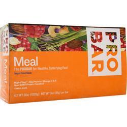 PRO BAR Whole Food Meal Bar Superfood Slam 12 bars