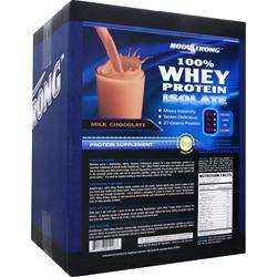 BODYSTRONG 100% Whey Protein Isolate Milk Chocolate 10 lbs