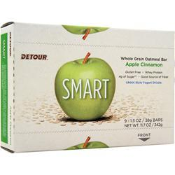 Forward Foods Smart Whole Grain Oatmeal Bar Apple Cinnamon 9 bars