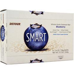 FORWARD FOODS Smart Whole Grain Oatmeal Bar Blueberry 9 bars