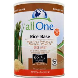 All One Multiple Vitamins & Minerals - Rice Base 2.2 lbs
