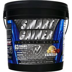 New Whey Nutrition Smart Gainer Isolate Blend Vanilla Cinnamon 10 lbs