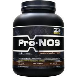 MRI Pro-NOS Dutch Chocolate Royale 3 lbs