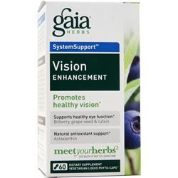 Gaia Herbs Vision Enhancement 60 lcaps