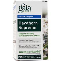 Gaia Herbs Hawthorn Supreme 60 lcaps