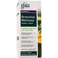 Gaia Herbs Bronchial Wellness - Herbal Syrup 5.4 fl.oz