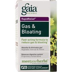 GAIA HERBS Gas and Bloating 50 vcaps
